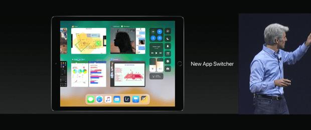Apple 推出 10.5 吋 iPad Pro,體積縮小螢幕更大,設計取向朝 PC 看齊 WWDC2017-278