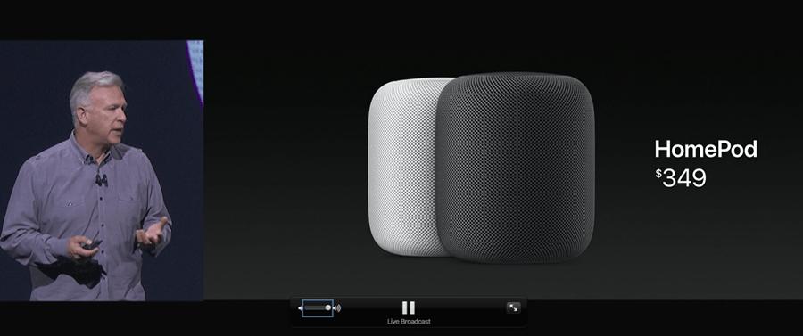 Apple如願推出智慧揚聲器 HomePod,支援 Music、Siri 與 HomeKit WWDC2017-318