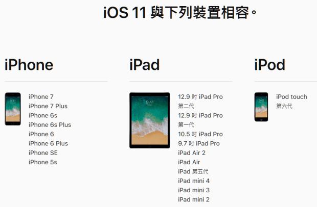 為什麼 iOS 11 不支援某些機型?跟「32 位元」有關 ios-11-%E6%94%AF%E6%8F%B4%E8%A3%9D%E7%BD%AE%E6%B8%85%E5%96%AE