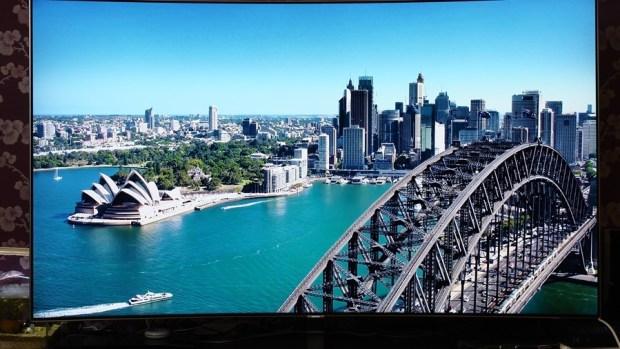 幾可亂真的超真實色彩!Samsung Q8C 65 吋 QLED 量子點電視開箱、評測 7073369