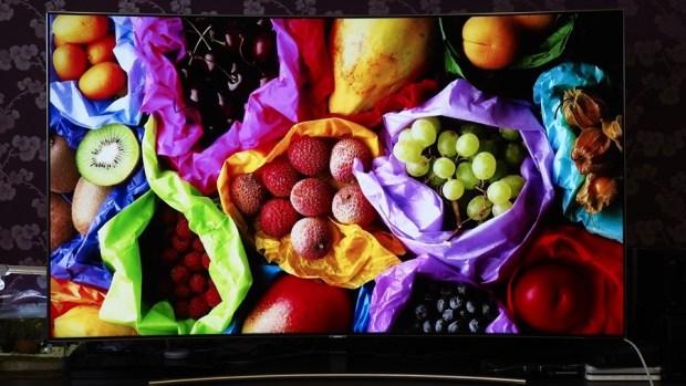 幾可亂真的超真實色彩!Samsung Q8C 65 吋 QLED 量子點電視開箱、評測 7073378