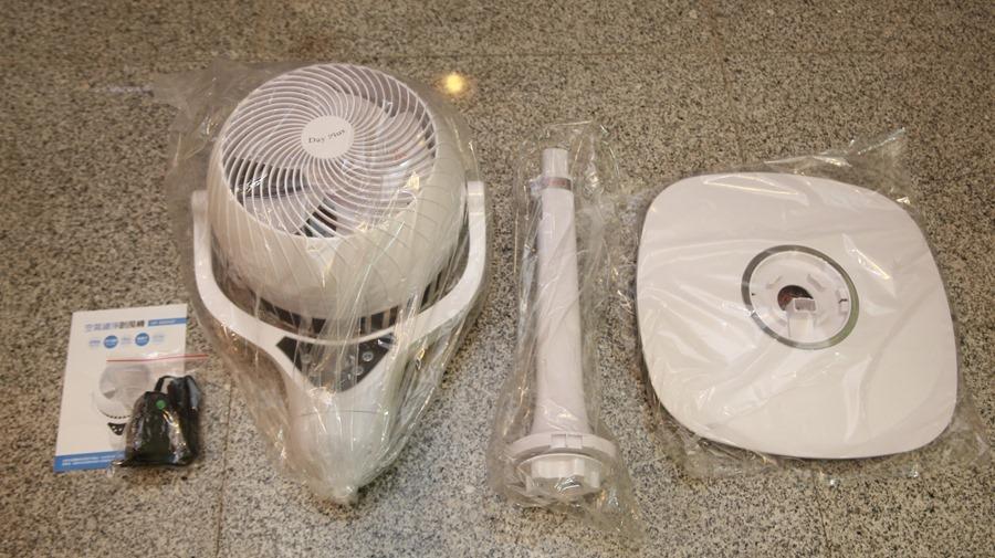 「Day Plus 空氣濾淨創風機」電扇+空氣清淨機合體 製造乾淨空氣、節省居家空間 IMG_6914