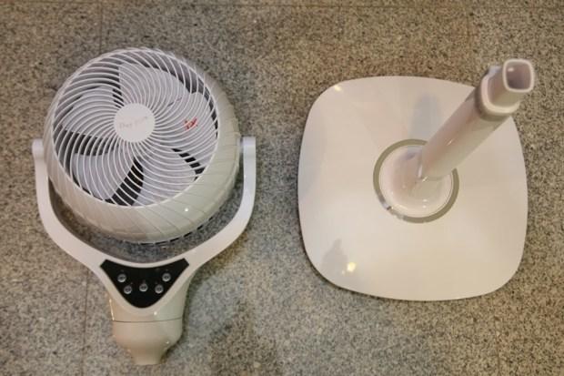 「Day Plus 空氣濾淨創風機」電扇+空氣清淨機合體 製造乾淨空氣、節省居家空間 IMG_6919