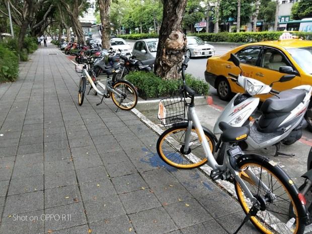 觀點/oBike 占用公用停車格合理?生存在法律與公益灰色地帶的公眾服務應該如何取捨? obike-1