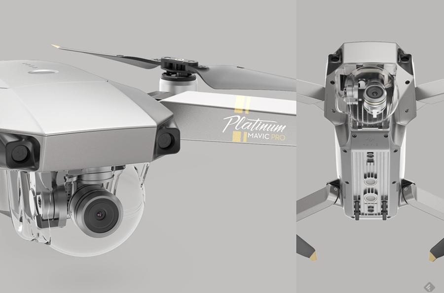 小改款 DJI Mavic Pro 鉑金版推出,噪音更小、飛行時間長達 30 分鐘 021