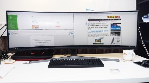 爽度最高!不只是電競螢幕,三星 32:9 超級寬螢幕 CHG90 評測 8190683