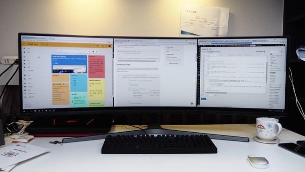 爽度最高!不只是電競螢幕,三星 32:9 超級寬螢幕 CHG90 評測 8190688