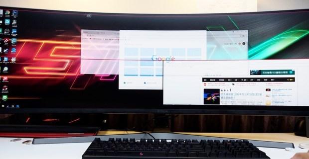 爽度最高!不只是電競螢幕,三星 32:9 超級寬螢幕 CHG90 評測 8200701