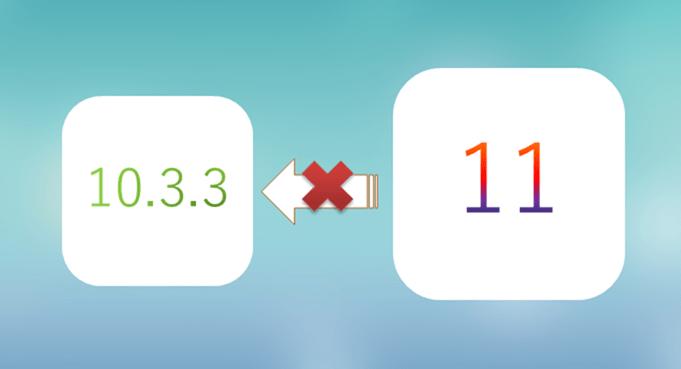 iOS11 無法降級到 iOS 10