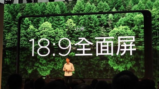 全面屏手機始祖「小米 MIX 2」正式在台灣上市,大螢幕佔比 14,999 輕鬆入手 A191676