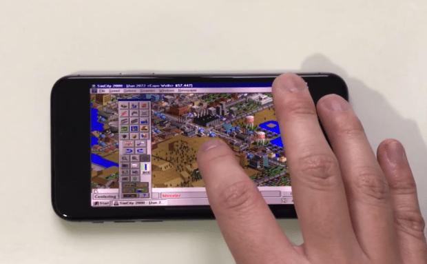 把 Windows 95 裝進 iPhone X,模擬城市 2000 都可以玩 Image-006