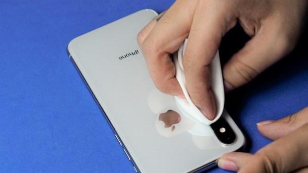 iPhone X 金屬邊框居然超脆弱!推薦你到這邊來體驗超完整包膜 B132155
