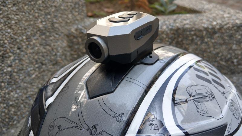 推薦「大通B52X機車跨界行車紀錄器」,IPX5防水、1296P超高畫質內建電池可錄2.5小時 IMAG1283