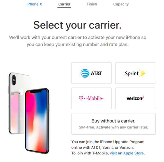 美國 Apple 線上商店開放銷售 SIM Free(無鎖機) iPhone X 與 iPhone 8 Image-014