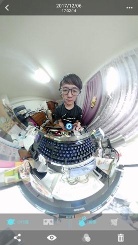 ASUS 360° 全景攝影機實測心得,好玩、有趣、好攜帶的平價選擇 Screenshot_20171206-173250
