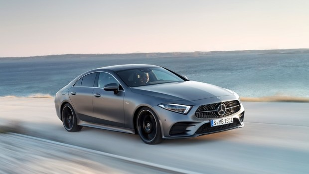 全新第三代 Mercedes-Benz CLS Coupe 正式下線 CLS-front