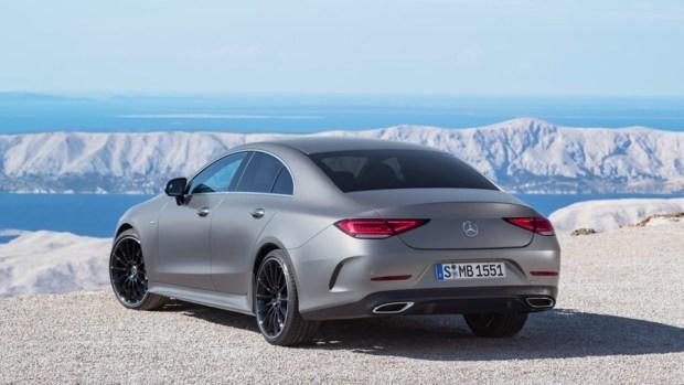 全新第三代 Mercedes-Benz CLS Coupe 正式下線 CLS-rear
