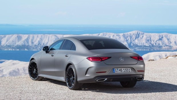 全新第三代 Mercedes-Benz CLS Coupe 正式下線 CLS-rear