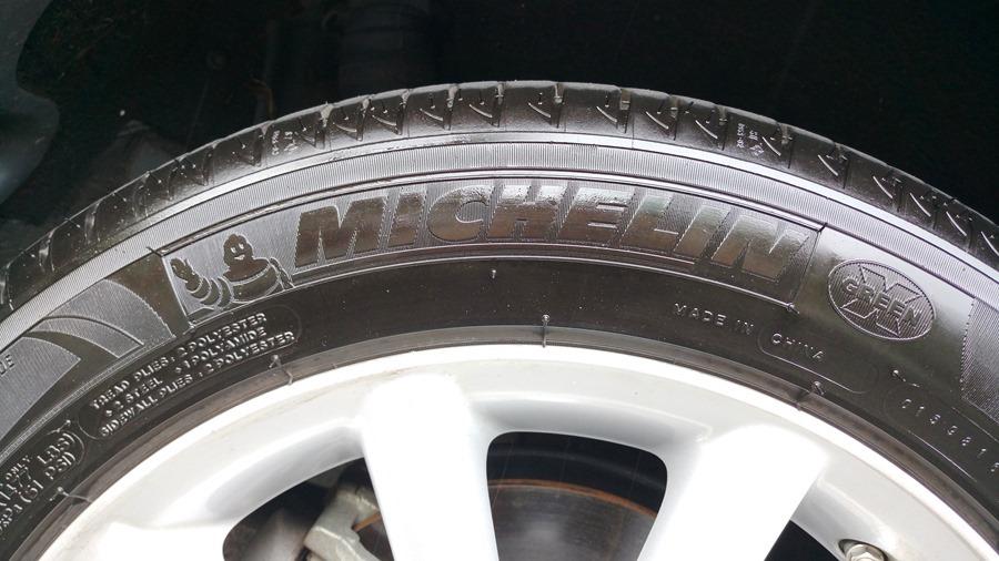 輪胎上的數字,你知道是什麼嗎? IMAG0890