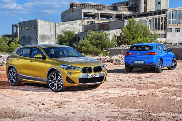 車迷期待的 BMW X2 不只有四驅 xDrive 版本,還會推出前輪驅動版本 bmw_x2_official_10