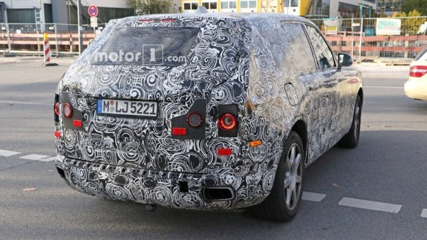 Rolls-Royce 首輛 SUV 車型將於今年亮相 rolls-royce-cullinan-spy-photos-inside-and-out-6