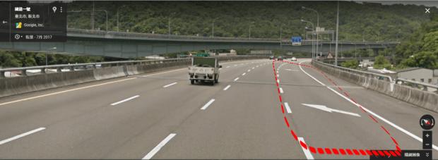 老司機可能也不懂,路面標線必看,以免被開罰! %E8%BB%8A%E9%81%93%E7%B8%AE%E6%B8%9B