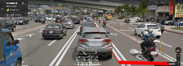 老司機可能也不懂,路面標線必看,以免被開罰! %E9%9B%99%E7%99%BD%E5%AF%A6%E7%B7%9A