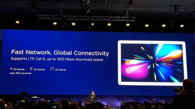 [MWC 2018] 華為正式發表 MateBook X Pro 及 MediaPad M5/M5 Pro 20180225_143654