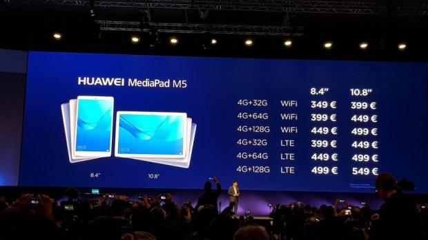 [MWC 2018] 華為正式發表 MateBook X Pro 及 MediaPad M5/M5 Pro 20180225_144406