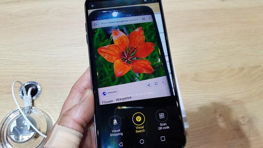 [MWC 2018] 不與爭鋒? LG 在 MWC 僅推出小改款 V30S ThinQ 系列手機,主打相機 AI 功能 20180226_100919