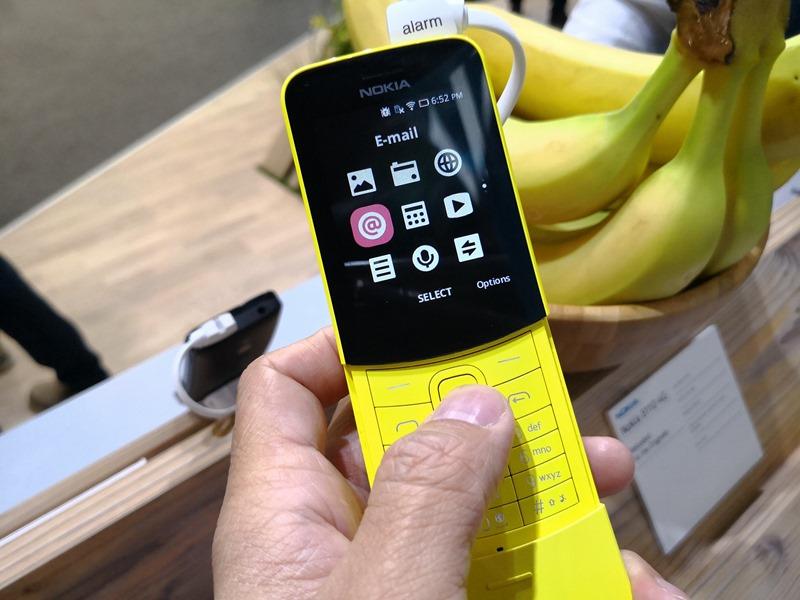 [MWC 2018] 醞釀22年,Nokia 8110 Reloaded 香蕉機再現經典 28514591_10212810982883479_3859721113758019379_o