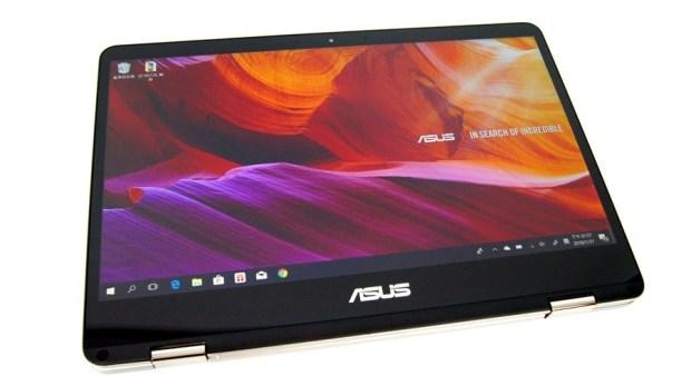 13 小時超長續航!ASUS ZenBook Flip 14 360° 翻轉筆電 評測 (UX461) DSC7693