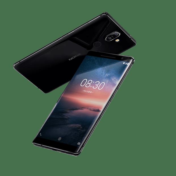 [MWC 2018] 再現經典 Nokia 8110 4G 版亮相,多款 Nokia Android 手機同步登場 Nokia-8-Sirocco
