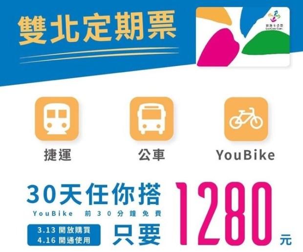 捷運通勤超省錢,雙北交通定期票 30 日無限搭公車捷運只要 1280 元 %E9%9B%99%E5%8C%97%E5%AE%9A%E6%9C%9F%E7%A5%A8