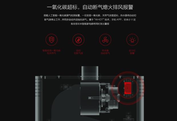 雲米發表智慧燃氣熱水器,具備AI語音聲控、精準調溫、CO濃度感知連動全屋智慧家電設計 016