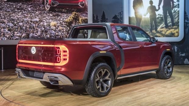 全新 VW 皮卡概念車 Atlas Tanoak,真的有帥! 04-vw-atlas-tanoak-concept-ny-1