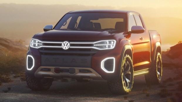 全新 VW 皮卡概念車 Atlas Tanoak,真的有帥! scny18-pick-up-1-1