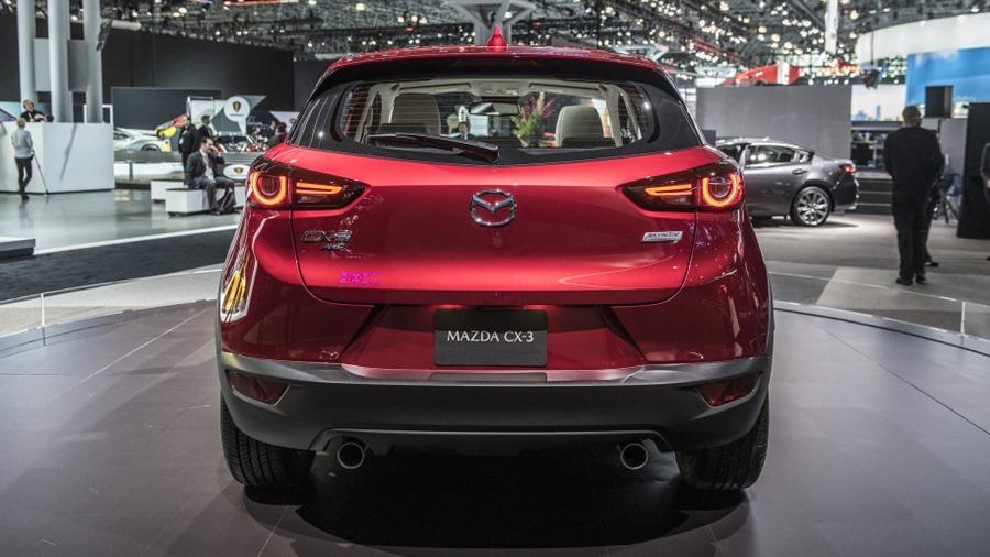 Mazda 小改款 CX-3 新發表,宛如縮小版 CX-5 07-2019-mazda-cx-3-ny-1