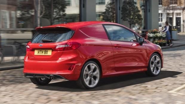 Ford Fiesta 竟然有商用車版本,跟你認知的商用車不一樣 2018-ford-fiesta-van-04-1