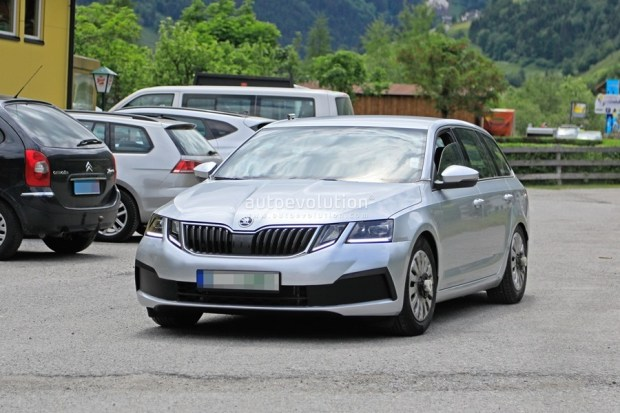 Skoda Octavia 外觀沒什麼變的小改款,預計 2020 年上市 2020-skoda-octavia-chassis-testing-mule-spied-for-the-first-time-is-a-lowered-r_4-1
