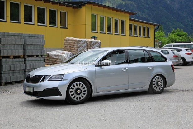 Skoda Octavia 外觀沒什麼變的小改款,預計 2020 年上市 2020-skoda-octavia-chassis-testing-mule-spied-for-the-first-time-is-a-lowered-r_6