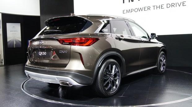 全新 Infiniti QX50 中國於 6/10 上市,台灣預計於第四季開始交車 DSC7292