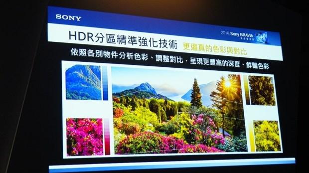 影像與色彩表現再升級,2018 Sony Bravia 電視全系列發表 DSC9773