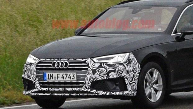 Audi A4 小改款被捕獲,外觀變化不大 audi-a4-facelift-2-1