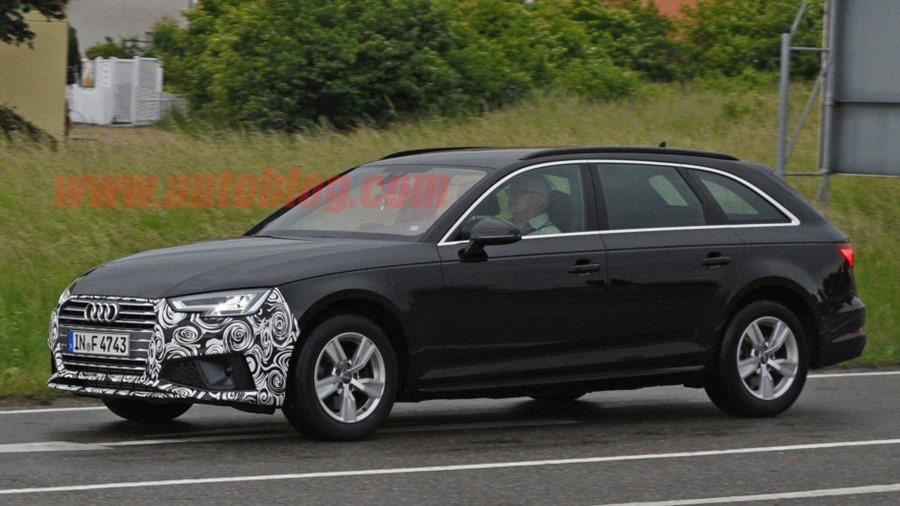 Audi A4 小改款被捕獲,外觀變化不大 audi-a4-facelift-4-1