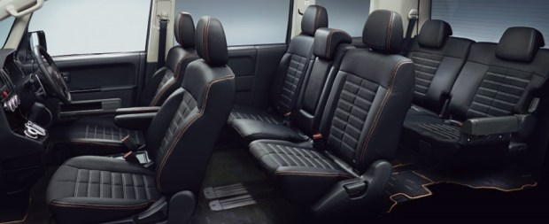三菱得利卡 Delica,大家熟悉的商用車 package-option-interior