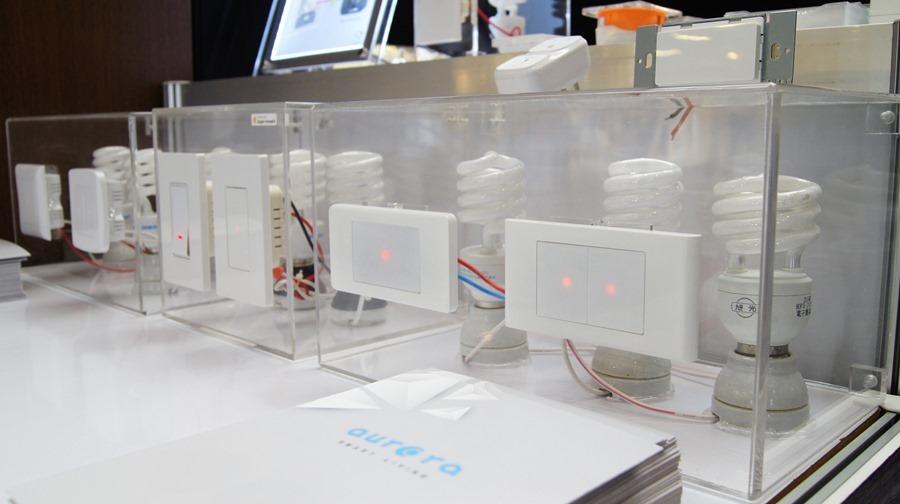 隆怡工業展出 Aurora 智慧開關,讓家裡輕鬆變為「智慧宅」(支援 HomeKit) DSC9935