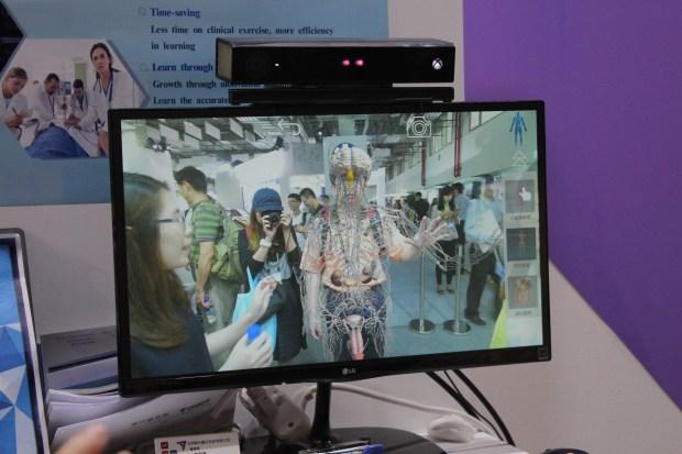 XR EXPRESS TW:治療採遊戲化方式、AR 透視身體構造學習 IMG_0773-900x600