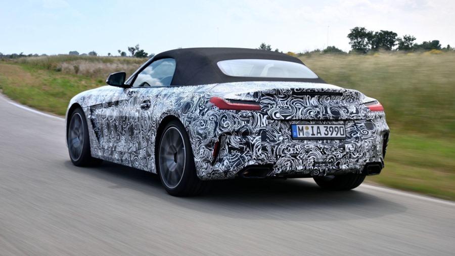 BMW 全新雙座跑車 Z4,預計將於 2019 年發售 bl73721-01-1