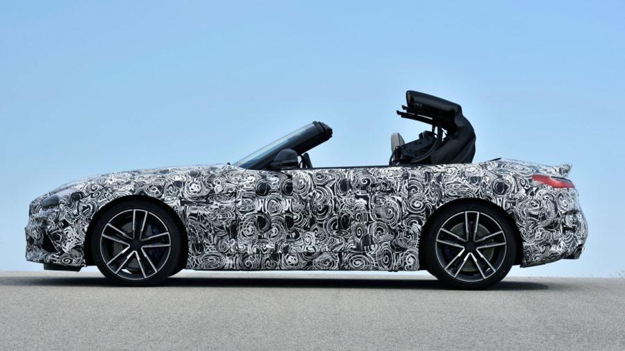 BMW 全新雙座跑車 Z4,預計將於 2019 年發售 bl73894-01-1